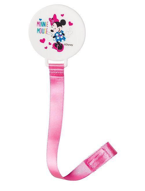 Chupetero 'Minnie' de 'Disney Baby'                                                     rosa