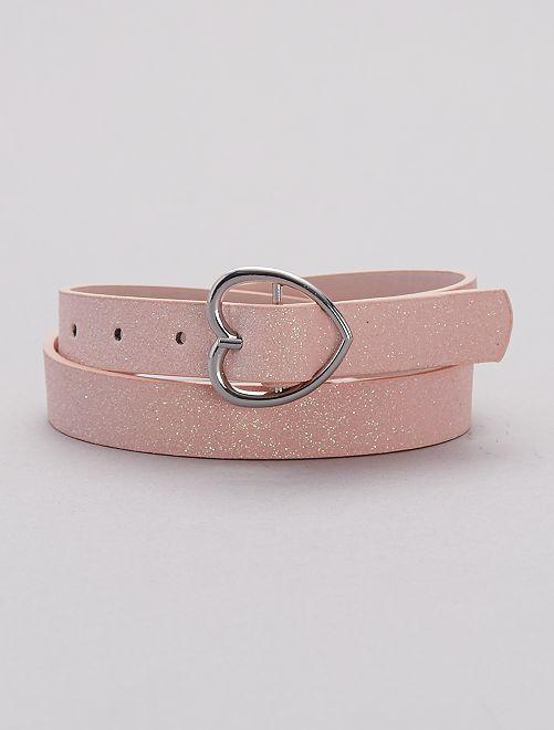 Cinturón brillante                             ROSA Chica