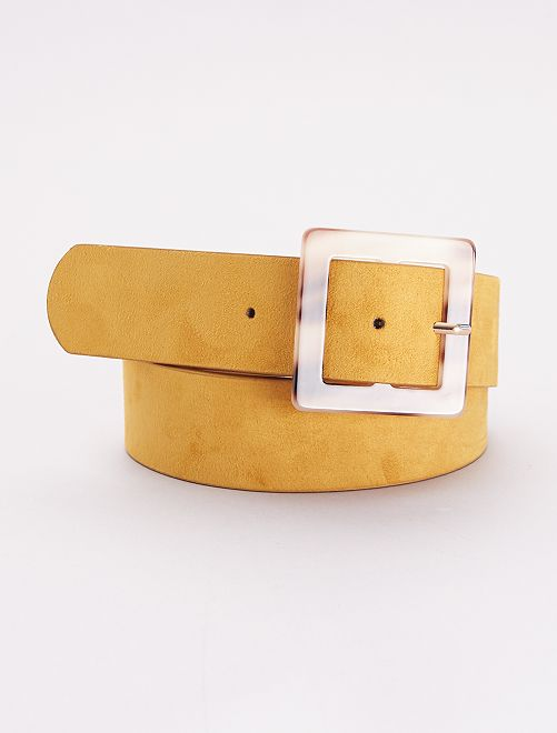 Cinturón de antelina                             AMARILLO