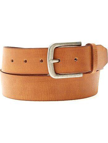 Hombre talla S-XXL - Cinturón de piel - Kiabi c3917424a5a7