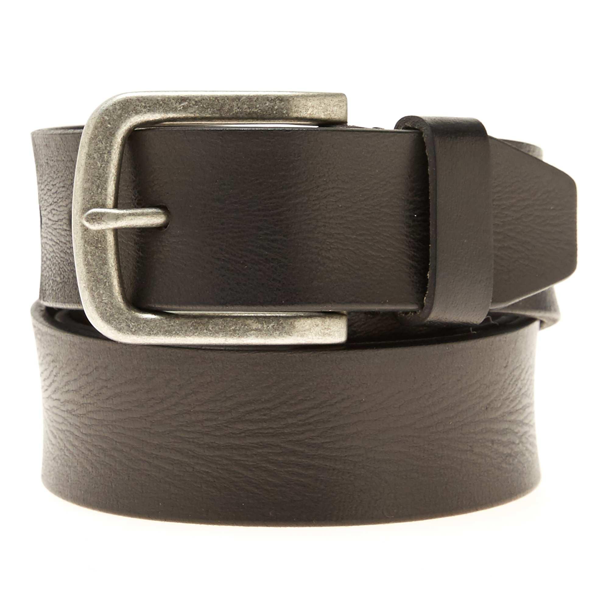 2266d728f26 Cinturón de piel Hombre - negro - Kiabi - 14