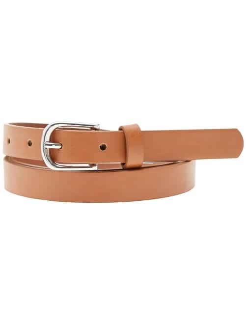 Cinturón fino                                                                             camello Mujer talla 34 a 48