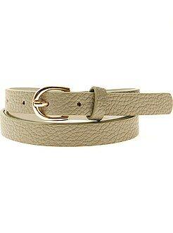 Mujer Cinturón fino
