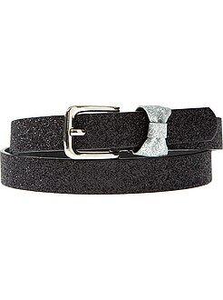 Accesorios - Cinturón fino con lentejuelas