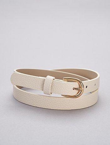 7e5e08a0b Cinturones mujer online | moda Mujer talla 34 a 48 | Kiabi