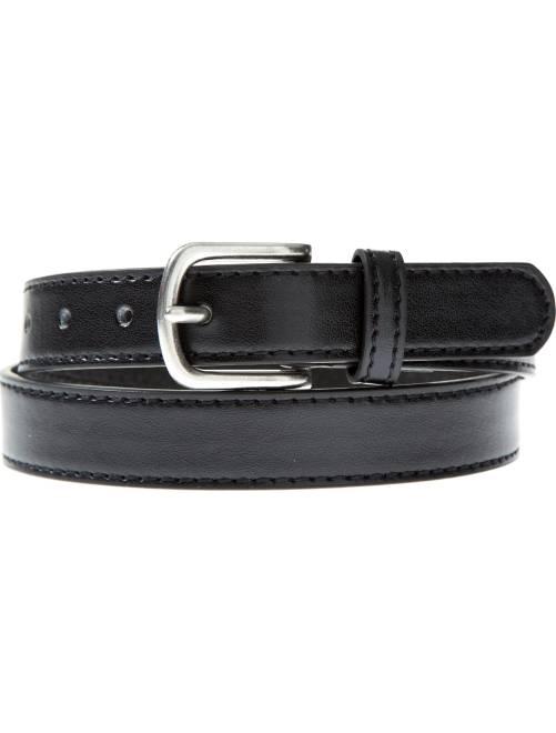 Cinturón fino liso                             negro