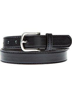 Cinturón fino liso - Kiabi