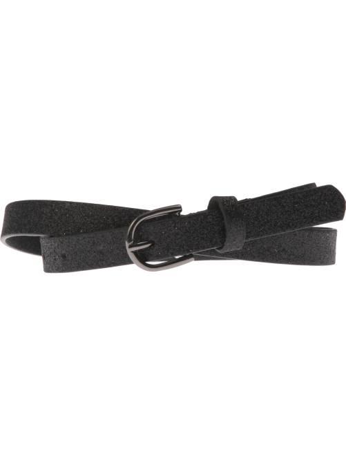 Cinturón fino                                                                             negro