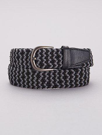 9e8656ef3 Cinturón fino trenzado - Kiabi