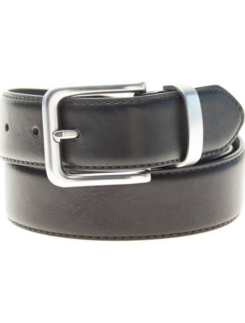 Cinturón liso                                         negro Hombre