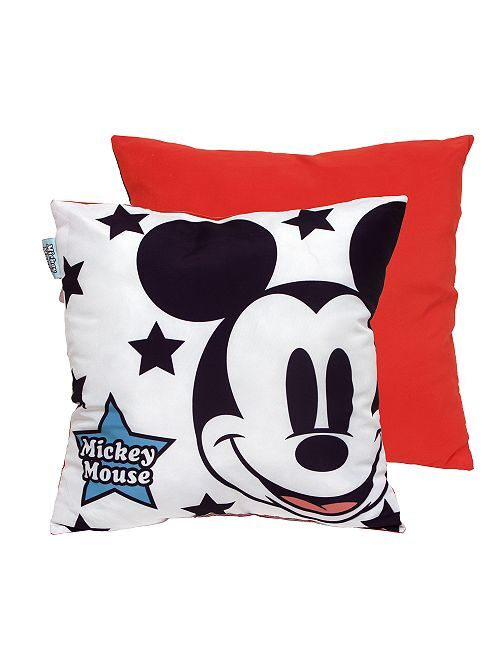 Cojín de 'Mickey' 40 x 40 cm                             blanco/rojo Hogar