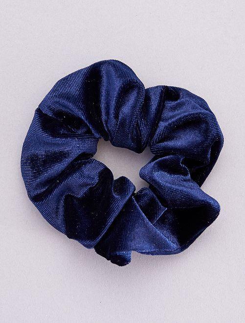 Coletero de terciopelo                                                     azul navy
