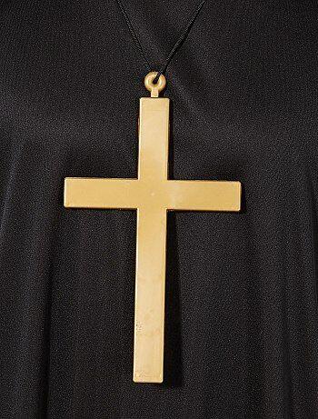 84ec32f1c4400 Collar con colgante de cruz de monje - Kiabi