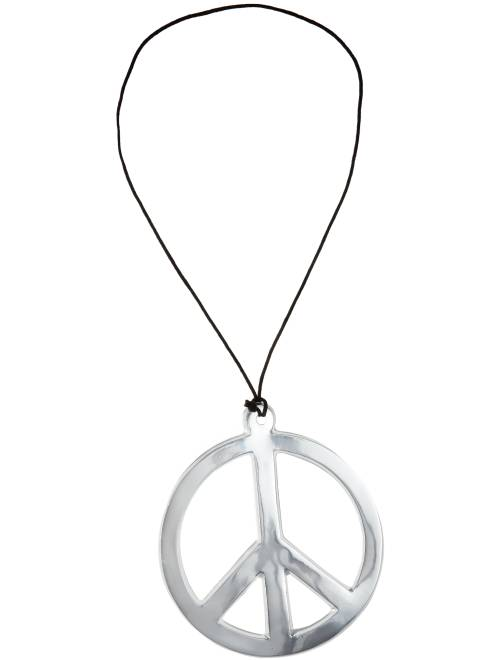 Collar hippie 'peace and love'                                         plata