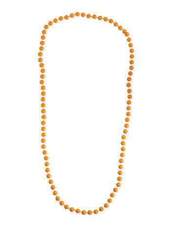 Collar largo de perlas - Kiabi
