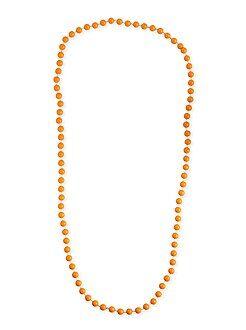 Mujer Collar largo de perlas