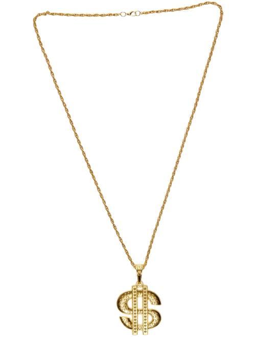 Collar metálico 'Dollar'                             dorado