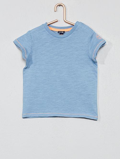 132f484ad Conjunto de 2 piezas con peto + camiseta Bebé niño - AZUL - Kiabi ...