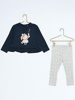 Conjuntos - Conjunto de 2 piezas túnica + legging
