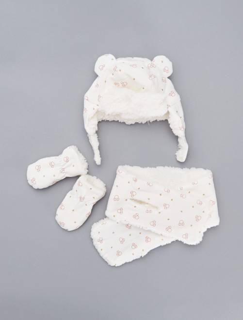 Conjunto de 3 piezas 'Minnie'                             BEIGE Bebé niña