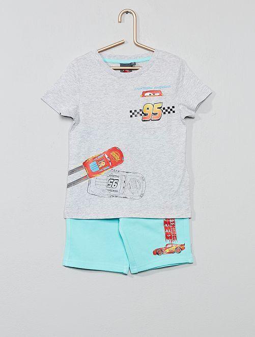 Conjunto de camiseta + bermudas 'Cars'                                         cars Chico