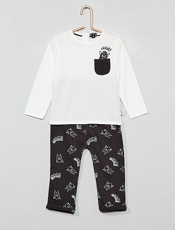 087b6c030 Rebajas conjuntos bebé niño baratos - moda Bebé niño   Kiabi