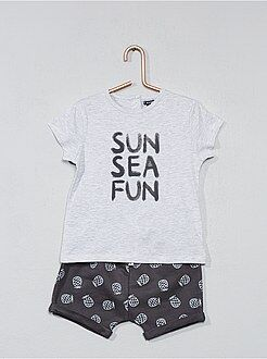 Conjunto de camiseta + pantalón corto - Kiabi
