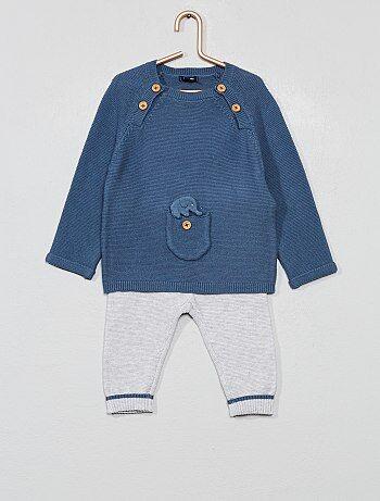 22e9e9734 Conjunto de jersey + pantalón 'eco-concepción' - Kiabi