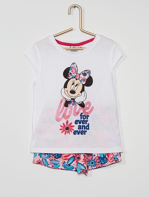 Conjunto de 'Minnie' de 'Disney'                     blanco