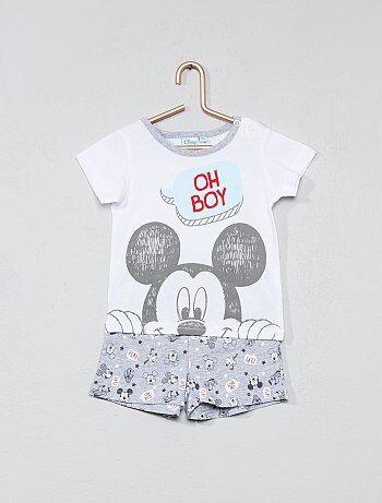 Conjunto de pantalón corto + camiseta 'Disney' - Kiabi