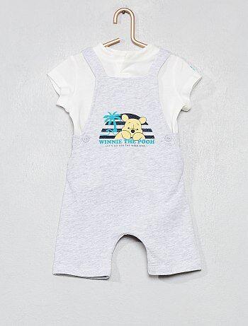 02fdc0653 Niño 0-36 meses - Conjunto de peto + camiseta  Winnie  - Kiabi
