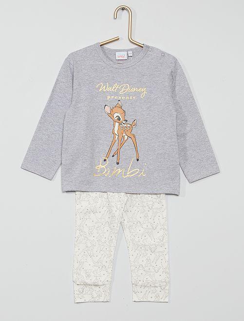 Conjunto de pijama 'Bambi' de 'Disney'                                         BLANCO