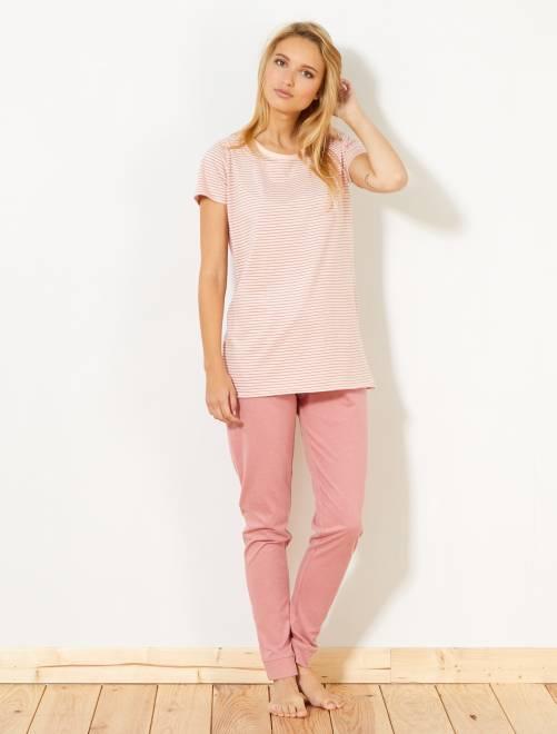 Conjunto de pijama                                                                 BLANCO