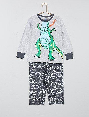 2dd2fd04d6 Conjunto de pijama  Dinosaurio  - Kiabi
