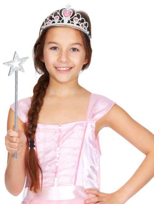 Conjunto de princesa                             plata