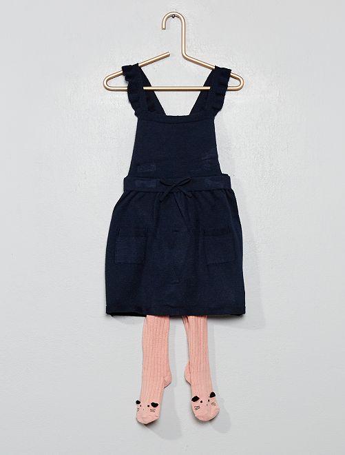 Conjunto de vestido + leotardos                                         ROSA