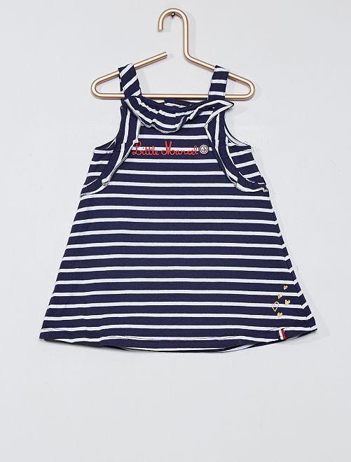 Conjunto de vestido y braguita 'Little Marcel'                             azul