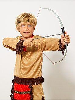 Niño 4-12 años Conjunto indio de arco, flechas y navaja