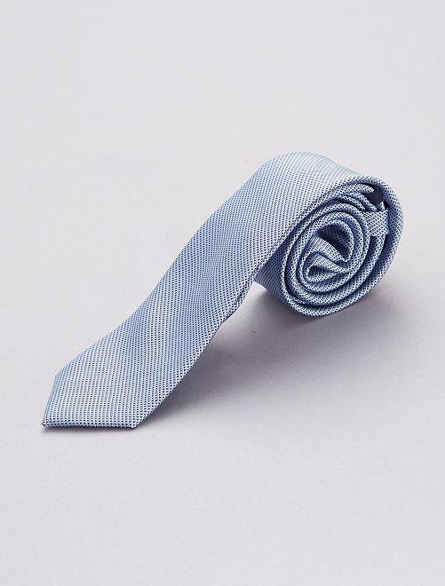 Corbata azul celeste                             azul