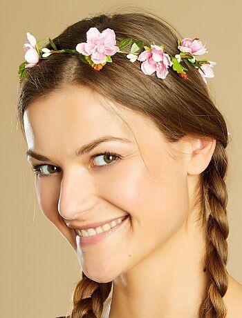 Mujer - Corona de flores - Kiabi