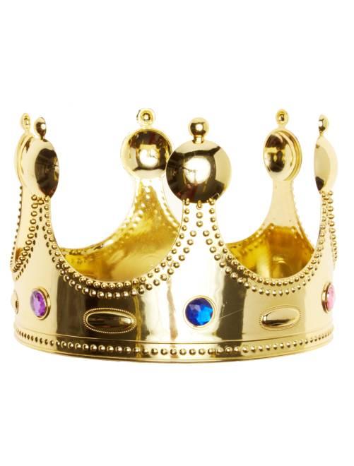 Corona de rey                             dorado