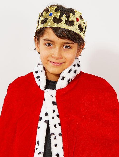 Corona de rey                             dorado Niños