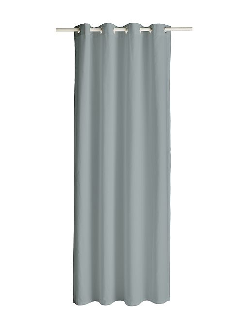 Cortina con ojales                                                                                                                                                                 zinc Hogar