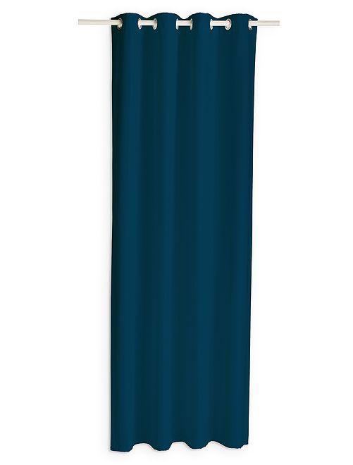Cortina opaca                     azul marino Hogar