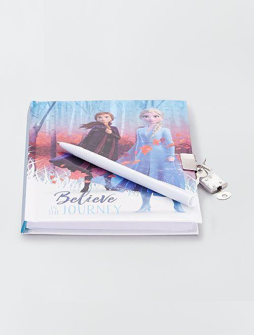 Cuaderno secreto 'Frozen 2'                             azul