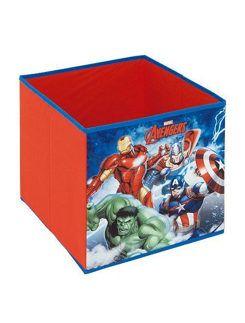 Cubo almacenaje 'Los Vengadores'                             rojo