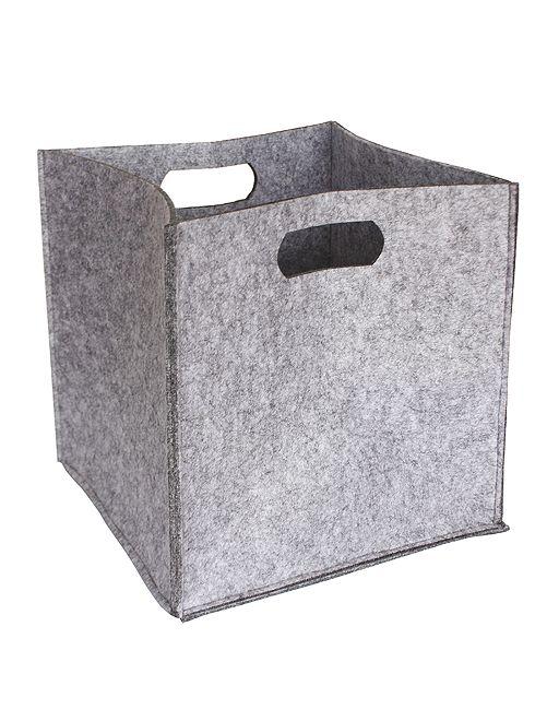Cubo de almacenaje                                         gris