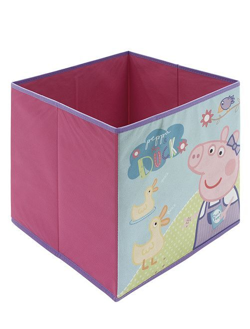 Cubo de almacenaje 'Peppa Pig'                             rosa