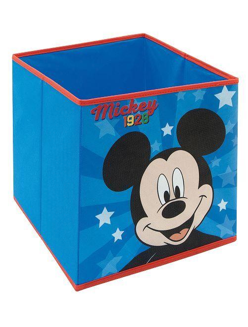 Cubo de almacenaje plegable 'Mickey'                             azul