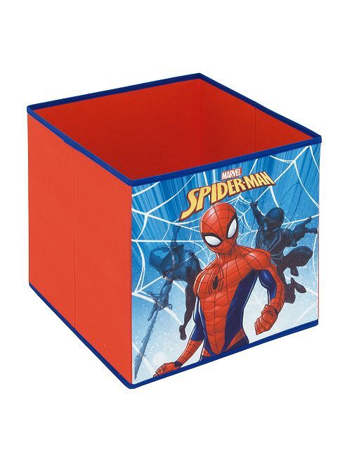 Cubo de almacenaje 'Spider-Man'                             rojo